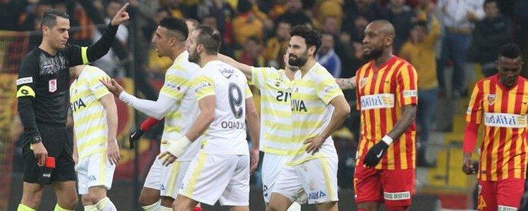 Fenerbahçe Ve Kayserispor