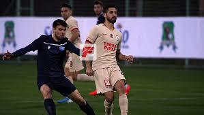 Galatasaray hazırlık maçında Adana